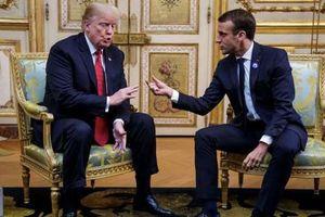 Tổng thống Pháp giúp ông Trump 'trút gánh nặng'