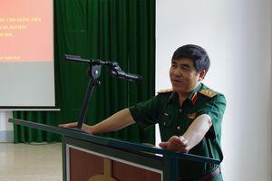 Bế mạc lớp tập huấn bồi dưỡng tin học cho giảng viên các học viện, nhà trường trong quân đội