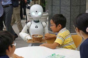Thú vị quán café robot do người tàn tật quản lý ở Nhật Bản