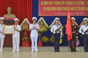 Lữ đoàn 680 được tặng thưởng Huân chương Bảo vệ Tổ quốc hạng Ba
