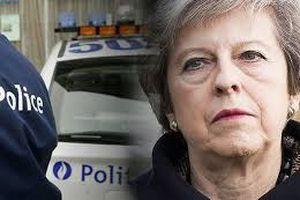 Đoàn xe của Thủ tướng Anh gặp tai nạn tại Bỉ