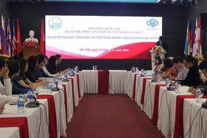 Quản trị đại học tinh gọn tại Việt Nam trong thời 4.0