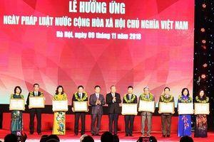 'Ngày Pháp luật góp phần xây dựng hình ảnh một nước Việt Nam đổi mới'