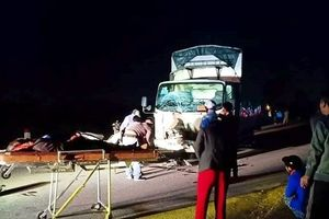 Ba người trong gia đình tử vong sau va chạm với xe tải