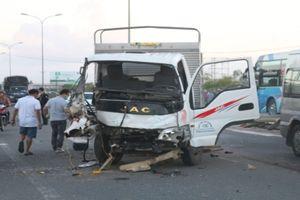 5 xe đâm nhau liên hoàn trên Quốc lộ, 1 người tử vong tại chỗ