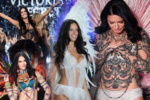 Nhìn lại 18 năm thiên thần nội y Adriana Lima 'đốt cháy' Victoria's Secret