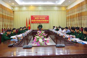 Đảng ủy Quân sự tỉnh tổ chức kiểm điểm tự phê bình và phê bình