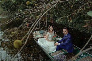 Hé lộ thêm hình ảnh xa hoa về đám cưới rộng 1.000 m2, chi phí trang trí 1 tỷ đồng của cặp trai xinh gái đẹp ở Vĩnh Phúc
