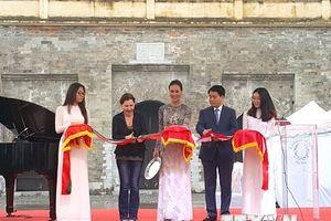 Khai mạc Hội chợ văn hóa 'Quảng trường Italia 2018' trong lòng Hà Nội