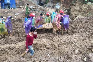 Vụ sập hầm vàng trái phép ở Hòa Bình: Đã tìm thấy một nạn nhân