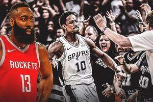 James Harden: DeMar DeRozan đang có vị trí tốt tại San Antonio Spurs