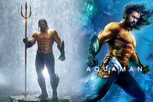 Bộ giáp của Arthur trong 'Aquaman' xuất hiện bản sao tại bảo tàng tượng sáp