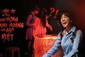 Vbiz Horror Story: 'Chị đại' Hari Won 'quậy tưng' căn phòng kinh dị, gặp ma 'tay bắt mặt mừng' như tri kỷ