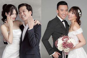 Sự trùng hợp không ngờ trong cuộc sống hôn nhân của 2 danh hài Trấn Thành - Trường Giang