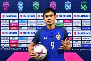 Tiền đạo ghi 6 bàn trong trận thắng của ĐT Thái Lan có gì đặc biệt?
