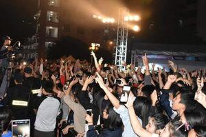 Bùng nổ đêm nhạc hội International Student Festival