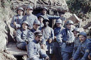 Thế chiến I qua những bức ảnh màu thật hiếm có