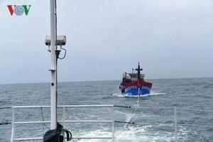 Cứu nạn được 2 tàu cá bị hỏng bánh lái khu vực đảo Cồn Cỏ
