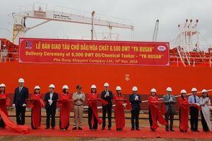 Phà Rừng bàn giao tàu 6.500 tấn cho đối tác Hàn Quốc