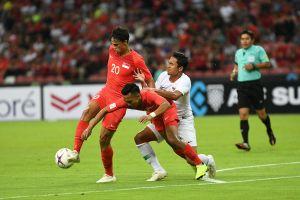 Đội nhà bất lực trước Singapore, báo Indonesia đổ lỗi cho trọng tài Việt Nam