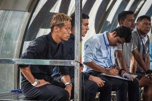 Danh thủ Keisuke Honda trở lại cứu nguy cho tuyển Campuchia