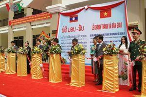 Khánh thành ngôi trường - quà tặng của Tổng Bí thư, Chủ tịch nước Nguyễn Phú Trọng- tại Lào