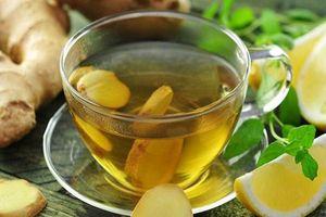 Eo thon bụng phẳng với những công thức trà gừng ngon tuyệt