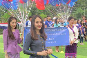Thắt chặt tình đoàn kết sinh viên Việt - Lào