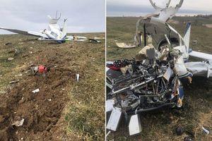 Máy bay rơi ở Mỹ vì phi công lên cơn đau tim