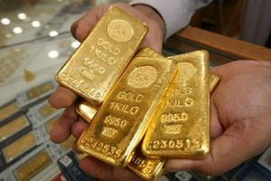 Giá vàng trong nước giảm sâu 120 nghìn đồng/lượng