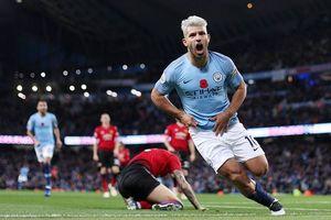 Đè bẹp MU, Man City 'vô đối' Ngoại hạng Anh