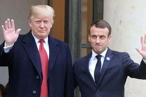 Gạt bỏ hiềm khích, TT Trump và Macron nhất trí châu Âu phải 'hùng mạnh' hơn nữa