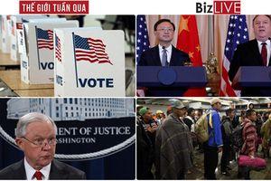Thế giới tuần qua: Bầu cử giữa kỳ Mỹ, phe Dân chủ giành lại Hạ Viện từ đảng Cộng hòa