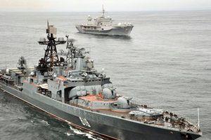 Nga và Nhật Bản bắt đầu tập trận hải quân chung tại Vịnh Aden