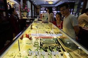 Tuần qua, giá vàng trong nước để mất khoảng 120.000 đồng/lượng