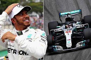 Lewis Hamilton giành vị trí xuất phát đầu tiên tại buổi đua phân hạng GP Brazil