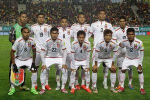Myanmar công bố đội hình, quyết đấu với ĐT Việt Nam