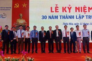 Hành trình 30 năm 'gieo chữ' của ngôi trường mang tên Danh nhân Nguyễn Quán Nho