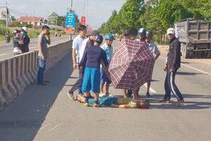 Dân quân tự vệ đâm vào dải phân cách, tử vong tại chỗ