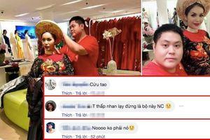 Bị chê xấu dữ dội, fan hy vọng đây không phải là Quốc phục của Minh Tú tại Miss Supranational 2018!
