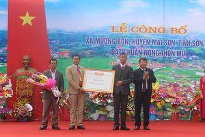 Sơn La: Thêm 2 xã được công nhận đạt chuẩn nông thôn mới