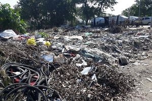 TP Vinh (Nghệ An): Rác 'bủa vây' nhiều khu vực trong thành phố