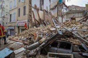 Pháp: Sập nhà trung tâm thành phố Marseille, không một ai sống sót