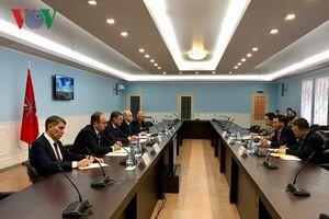 Tỉnh Tula, LB Nga ưu tiên hợp tác với Việt Nam trong nhiều lĩnh vực