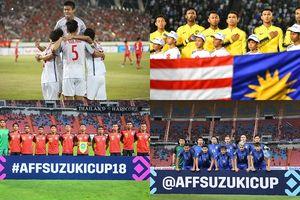 Bảng xếp hạng AFF Cup 2018: Việt Nam đua tranh với Malaysia