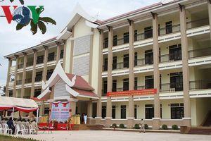 Khánh thành trường học ở Lào - quà tặng của TBT, CTN Nguyễn Phú Trọng