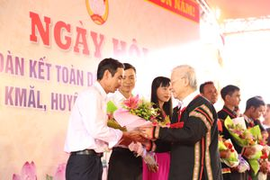 Tổng Bí thư, Chủ tịch nước dự 'Ngày hội Đại đoàn kết toàn dân tộc các thôn, buôn' ở Đắk Lắk