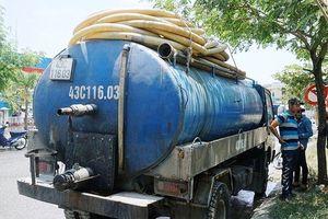 Đổ trộm nhớt thải xuống cống nước, bị phạt 383 triệu đồng
