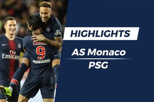 Highlights Monaco 0-4 PSG: Cavani lập hat-trick