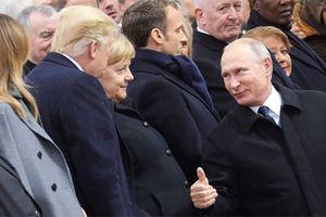 Tưởng niệm Thế chiến I tại Paris: Những khoảnh khắc 'đắt giá' của lãnh đạo Thế giới